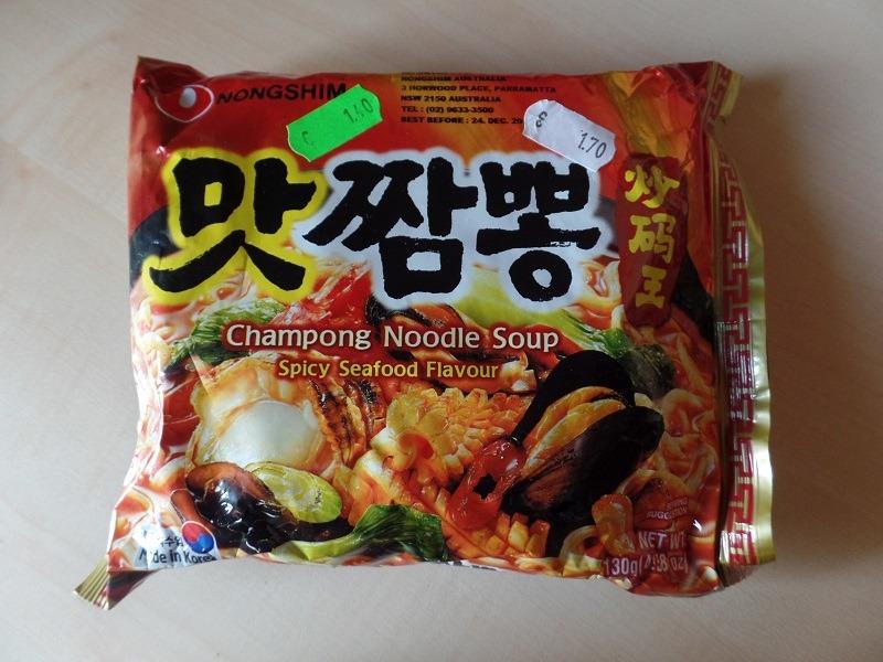 "#998: Nongshim ""Champong Noodle Soup"" (Spicy Seafood Flavour)"