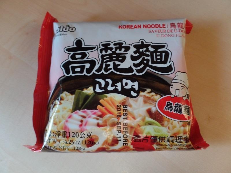 "#953: Paldo ""Korean Noodle U-Dong Flavor"""