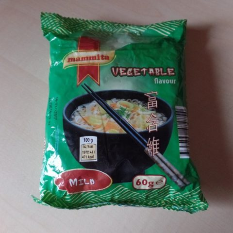 "#1007: mammita ""Vegetable Flavour"" Mild"