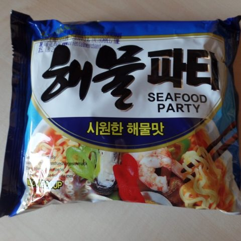 """#1009: Samyang """"Seafood Party"""" (Seafood Flavour Noodle)"""