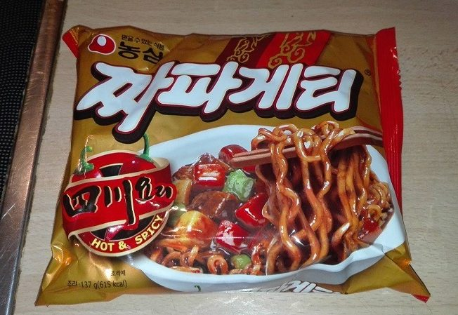 "Nongshim ""Jjajangmen Hot & Spicy"""