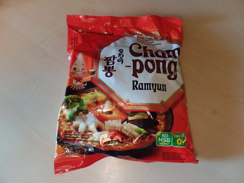 "#341: Nongshim ""Champong Ramyun"""