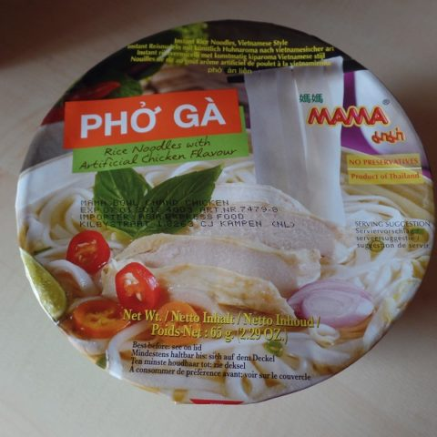"#1021: Mama ""Phở Gà"" Rice Noodles with Artificial Chicken Flavour (Bowl)"