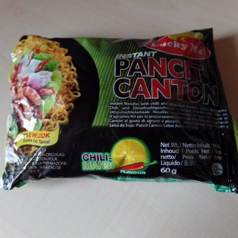 "#1023: Lucky Me! ""Instant Pancit Canton"" Chili-Mansi Flavour"