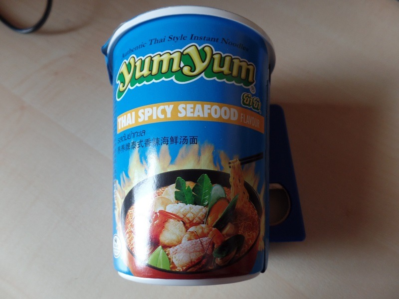 "#1027: YumYum ""Thai Spicy Seafood Flavour"" Cup"