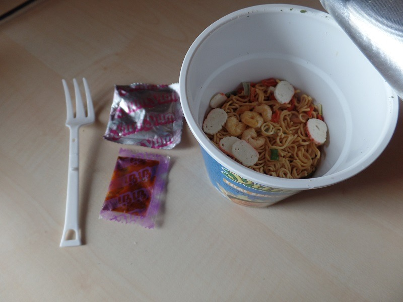 """#1027: YumYum """"Thai Spicy Seafood Flavour"""" Cup"""