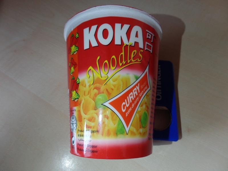 "#1029: Koka Noodles ""Curry Flavour"" Cup"
