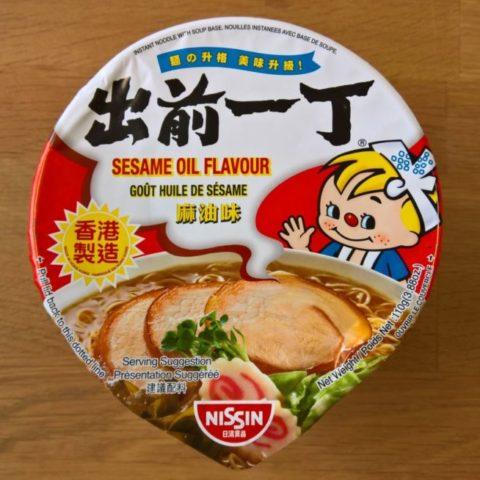 "#1059: Nissin ""Sesame Oil Flavour (Big Cup)"""