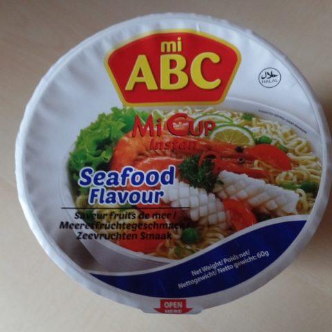 """#1042: mi ABC """"Seafood Flavour"""" Mi Cup Instan"""