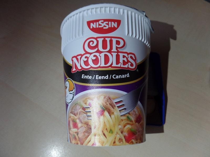 """#1050: Nissin """"Cup Noodles Ente"""""""