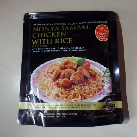 "#1052: Prima Taste ""Nonya Sambal Chicken with Rice"""