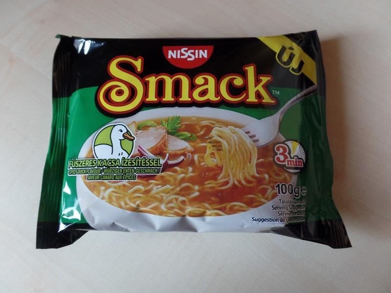 """#1053: Nissin Smack """"Fűszeres Kacsa ízesítéssel"""" (Spicy Duck Flavour)"""
