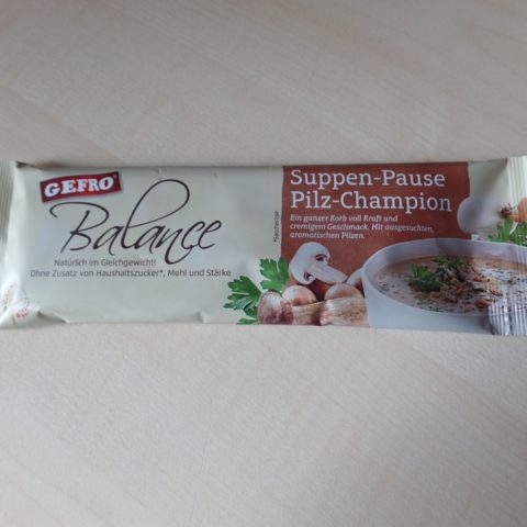 "#1055: Gefro Balance ""Suppen-Pause"" Pilz-Champion"