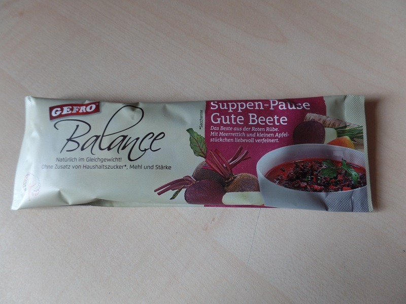 """#1056: Gefro Balance """"Suppen-Pause"""" Gute Beete"""