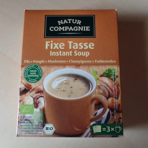 "#1057: Natur Compagnie ""Fixe Tasse Instant Soup"" Pilzcremesuppe"