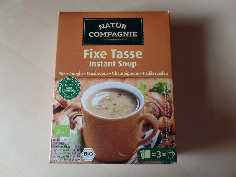 """#1057: Natur Compagnie """"Fixe Tasse Instant Soup"""" Pilzcremesuppe"""