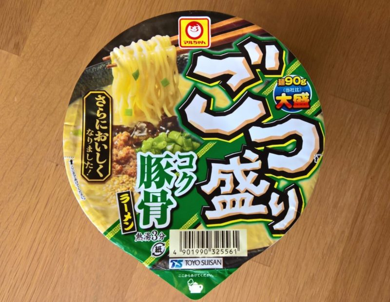 """#1063: Maruchan """"Gotsumori Koku Tonkotsu Ramen"""""""