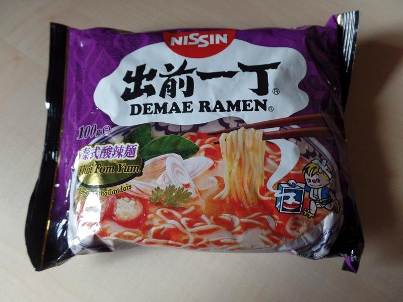 """#1066: Nissin Demae Ramen """"Thai Tom Yum"""""""