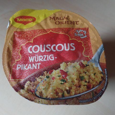 """#1073: Maggi Magic Orient """"Couscous Würzig-Pikant"""""""
