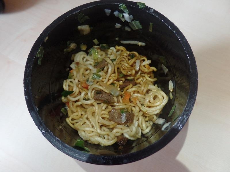 "#1076: Nissin Soba ""Sukiyaki Beef"" Cup"