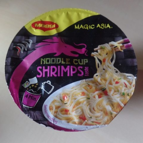 "#1081: Maggi Magic Asia ""Noodle Cup Shrimps Taste"""