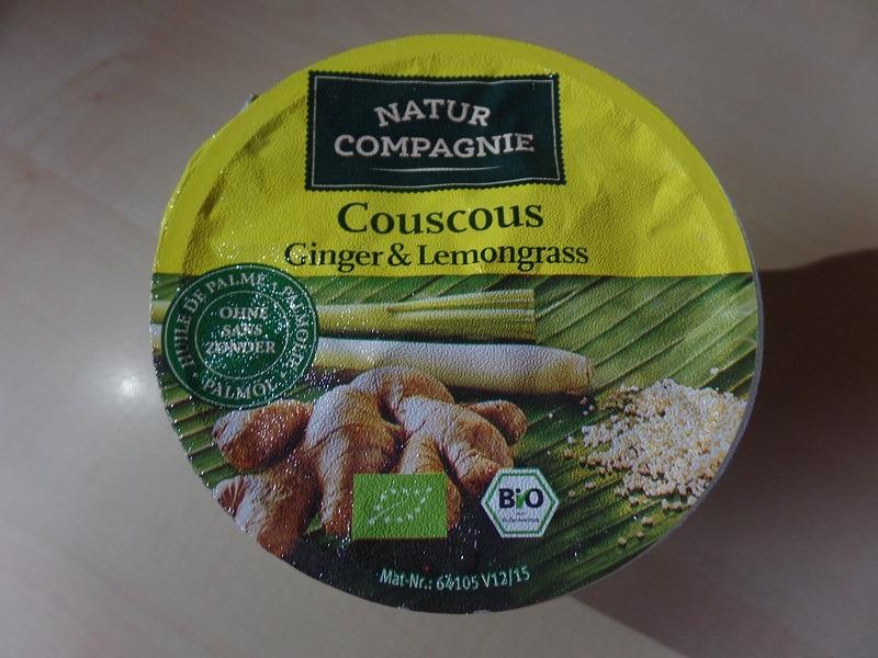 """#1082: Natur Compagnie """"Couscous Ginger & Lemongrass"""""""