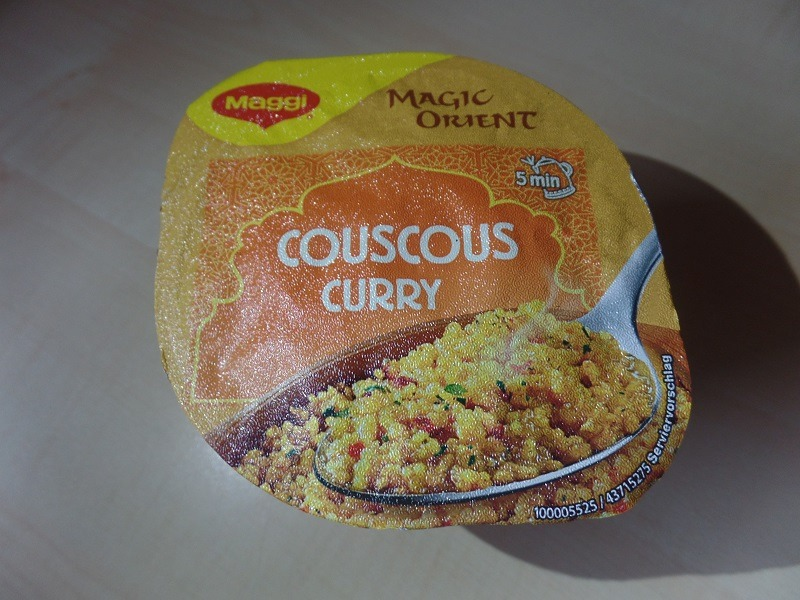 "#1084: Maggi Magic Orient ""Couscous Curry"""