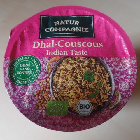 "#1085: Natur Compagnie ""Dhal-Couscous Indian Taste"""