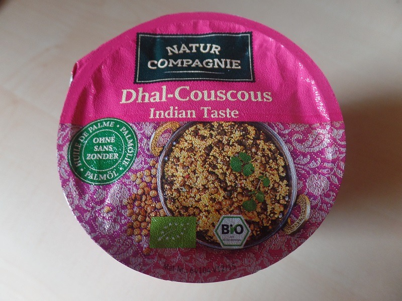 "#1085: Natur Compagnie ""Dhal-Couscous Indian Taste"""