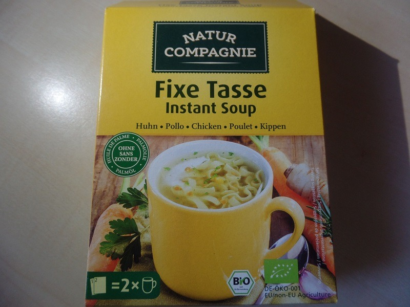 """#1087: Natur Compagnie """"Fixe Tasse Instant Soup"""" Huhn"""