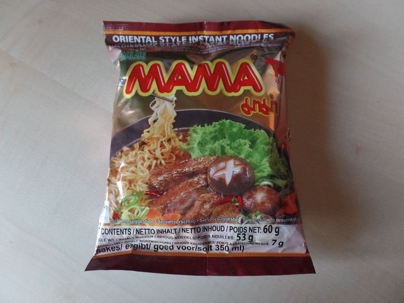 "#1088: Mama Oriental Style Instant Noodles ""Stew Beef Flavour"""