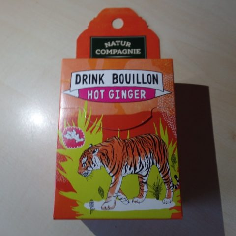 "#1089: Natur Compagnie Drink Bouillon ""Hot Ginger"""