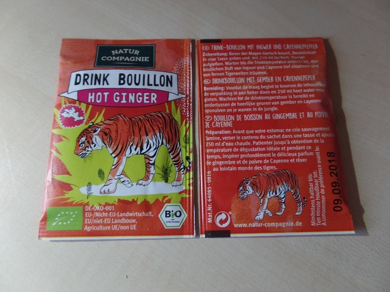"""#1089: Natur Compagnie Drink Bouillon """"Hot Ginger"""""""