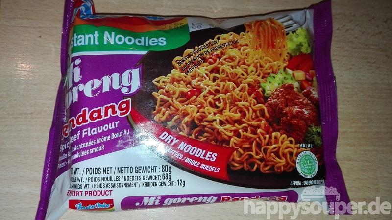 """#1113: Indomie Instant Noodles """"Mi Goreng Rendang Spicy Beef Flavour"""""""