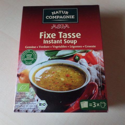 "#1092: Natur Compagnie Asia Style ""Fixe Tasse Instant Soup"" Gemüse"