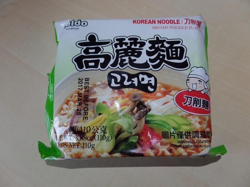 "#938: Paldo Korean Noodle ""Broad Noodle Flavor"""