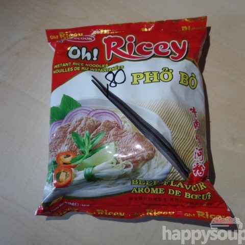 "#1097: Acecook ""Oh! Ricey Phở Bò"" (Instant Rice Noodles Beef Flavour)"