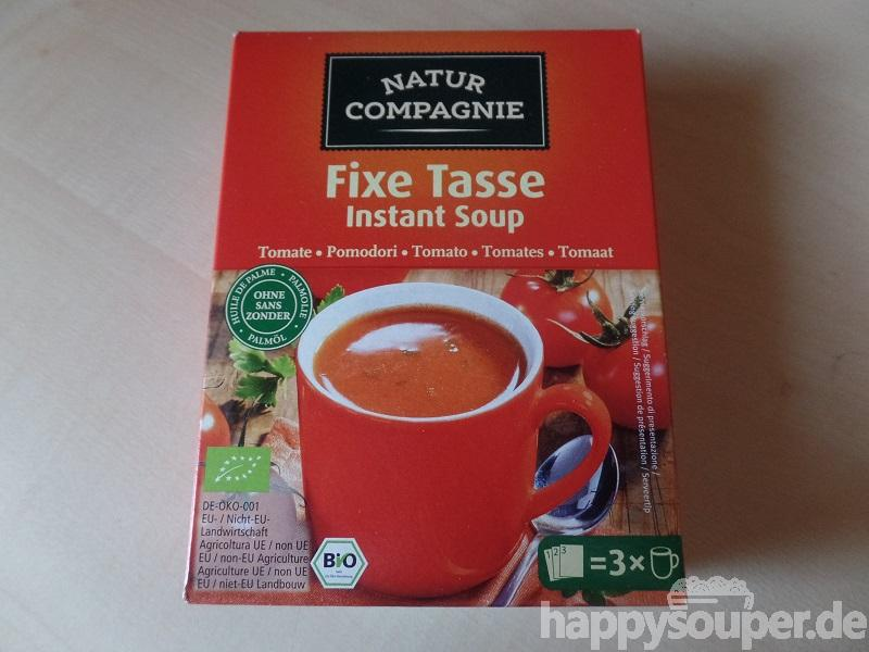 """#1099: Natur Compagnie """"Fixe Tasse Instant Soup"""" Tomatencremesuppe"""