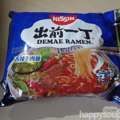 """#1106: Nissin Demae Ramen """"Spicy Beef Flavour"""""""