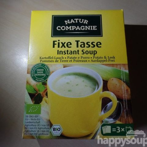 "#1108: Natur Compagnie ""Fixe Tasse Instant Soup"" Kartoffel-Lauchcremesuppe"