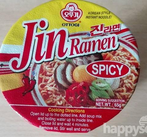 """#1116: Ottogi """"Jin Ramen Spicy"""" Cup"""