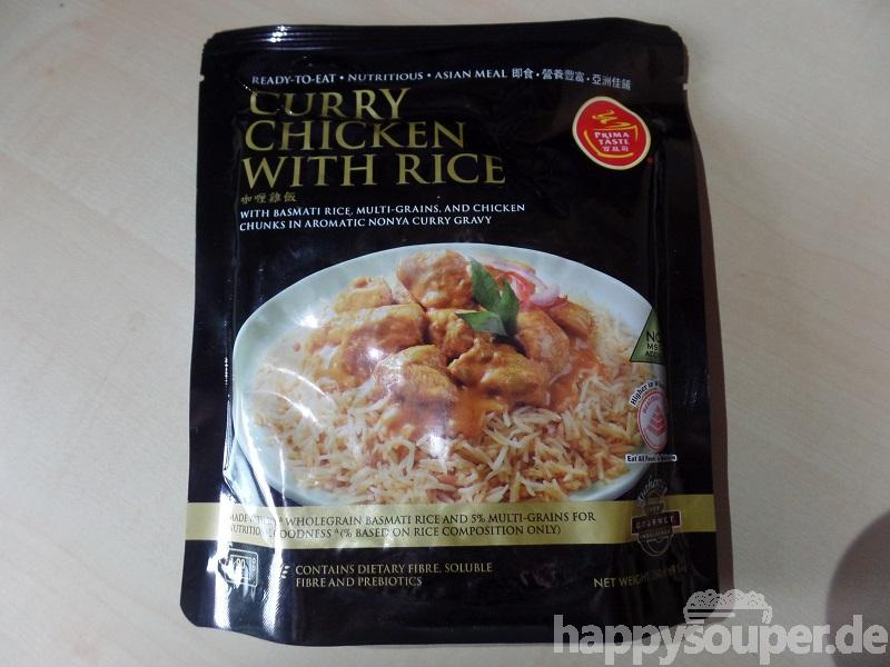 "#1118: Prima Taste ""Curry Chicken with Rice"""