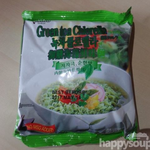 "#1122: Paldo ""Green Tea Chlorella Noodles"""
