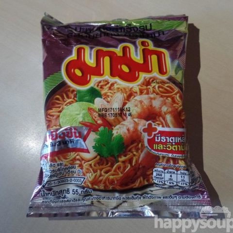 "#1130: Mama Instant Noodles ""Shrimp Tom Yum Flavour"""