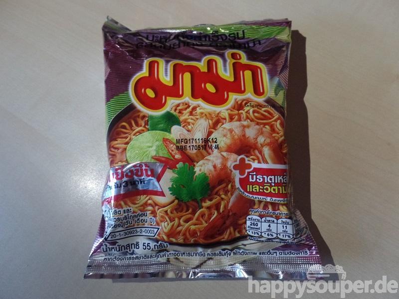 """#1130: Mama Instant Noodles """"Shrimp Tom Yum Flavour"""""""