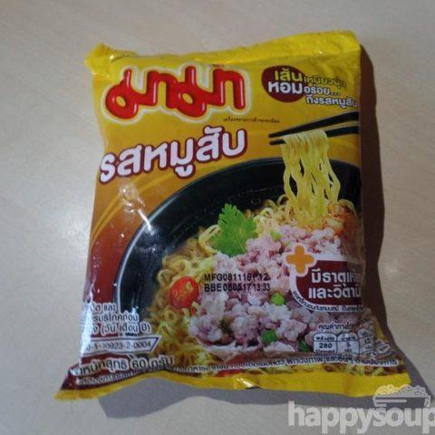 """#1134: Mama Instant Noodles """"Minced Pork Flavour"""""""