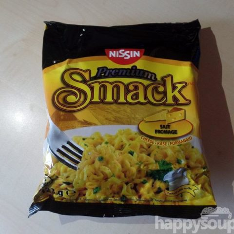 "#1138: Nissin Premium Smack ""Sajt - Fromage"" (Cheese - Käse - Formaggio)"