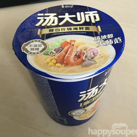 "#1121: Master Kong ""Assorted Seafood Noodle"""