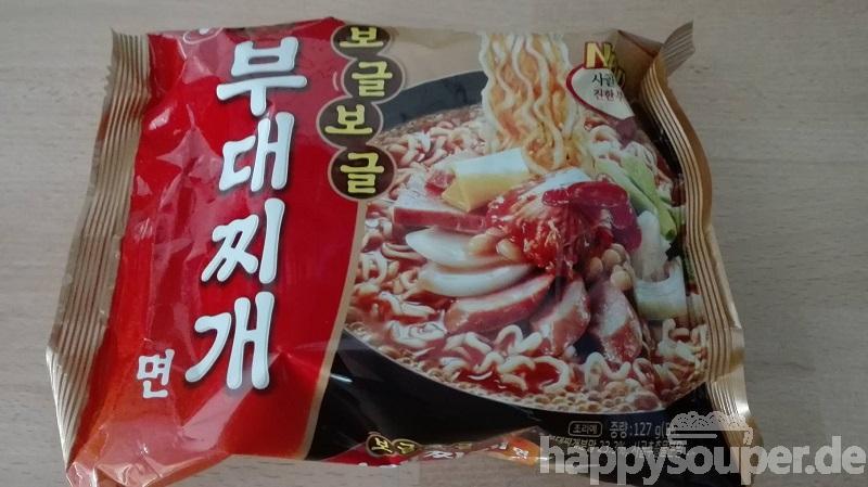 """#1153: Nongshim """"Budae Jjigae Noodle Soup"""""""