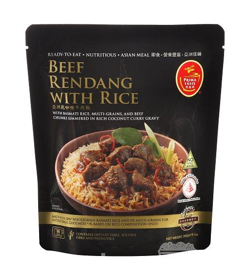 "#1141: Prima Taste ""Beef Rendang With Rice"""
